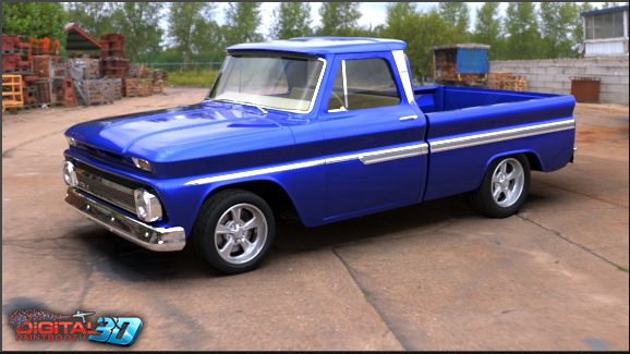 1964 Chevrolet Truck : House of kolor digital paint booth database